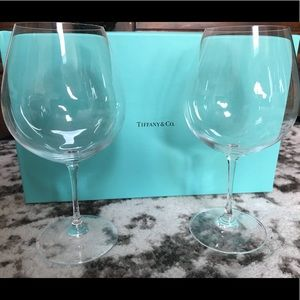 63d2d24e7b46 Tiffany   Co. Other - NEW box Tiffany   Co oversized red wine glass set